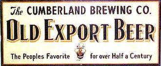 Iron City Brewing Company - Cumberland Brewing Company motif