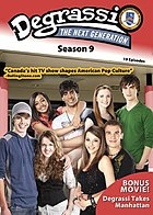 Degrassi: The Next Generation season 9 DVD digipak