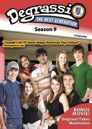 Degrassi: The Next Generation (season 9) - Degrassi: The Next Generation Season 9 DVD