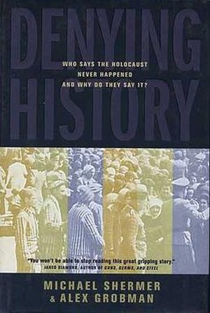 Denying History - Cover of the first edition