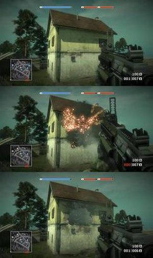 Frostbite (game engine) - Destruction in Battlefield: Bad Company on Frostbite 1