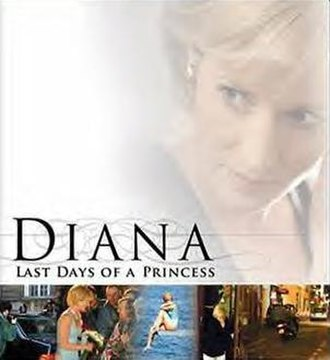 Diana: Last Days of a Princess - Genevieve O'Reilly on the DVD cover