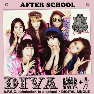 Diva (After School song) - Image: Divaafterschool