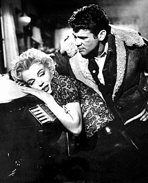 Don Murray (actor) - with Marilyn Monroe in Bus Stop (1956)