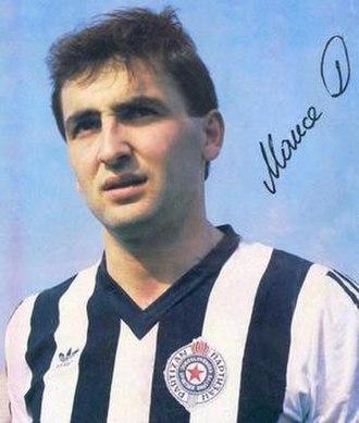 FK Partizan - Partizan legend Dragan Mance.