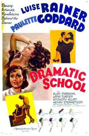Dramatic School (film) - Theatrical release poster