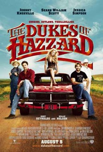 The Dukes of Hazzard (film) - Theatrical release poster
