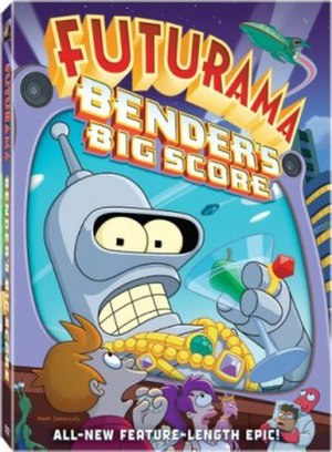 Futurama: Bender's Big Score - DVD cover