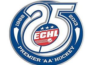 2012–13 ECHL season - Image: ECHL 25th anniversary logo