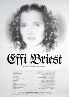 <i>Effi Briest</i> (1974 film) 1974 film by Rainer Werner Fassbinder