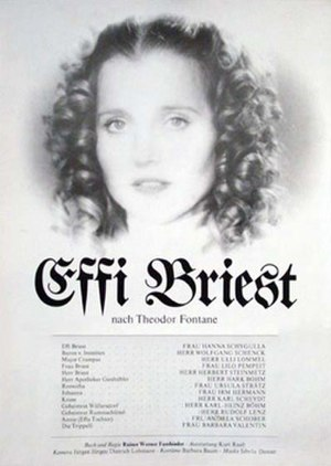 Effi Briest (1974 film) - Theatrical release poster