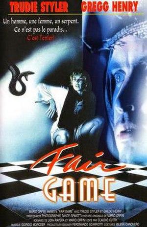 Fair Game (1988 film) - Image: Fairgame 88