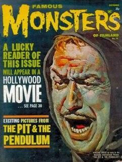 <i>Famous Monsters of Filmland</i> American film magazine