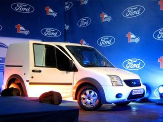 Craiova - First Ford Transit at Automobile Craiova