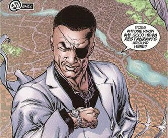 Nick Fury (Ultimate Marvel character) - The original design for Ultimate Nick Fury