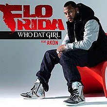 Flo Rida's Who Dat Girl Single Cover.jpg