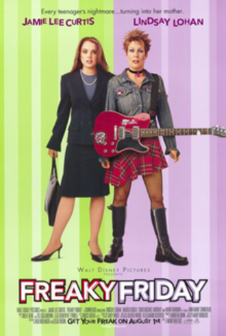 Freaky Friday (2003 film) - Theatrical release poster