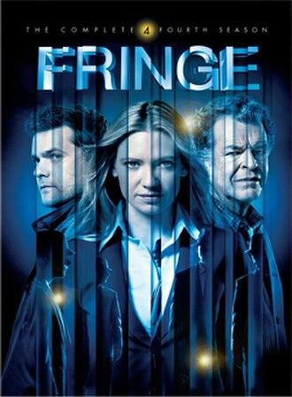 Fringe (season 4) - Region 1 DVD cover