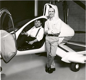 Skyworks Global - GBA Founders: David and Jay Groen with Hawk 1