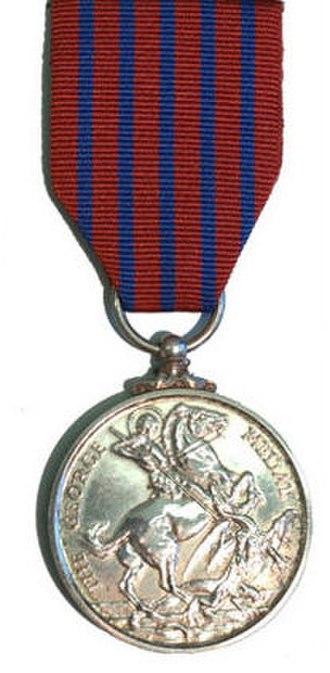 George Medal - Image: George Medal Rev