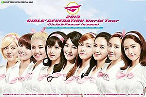 Girls' Generation World Tour Girls & Peace - Image: Girls&Peace World Tour