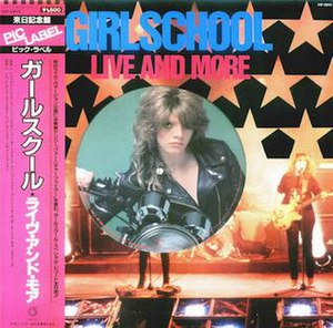 Live and More EP - Image: Girlschool Live and more