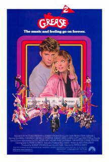 <i>Grease 2</i> 1982 US musical film directed by Patricia Birch