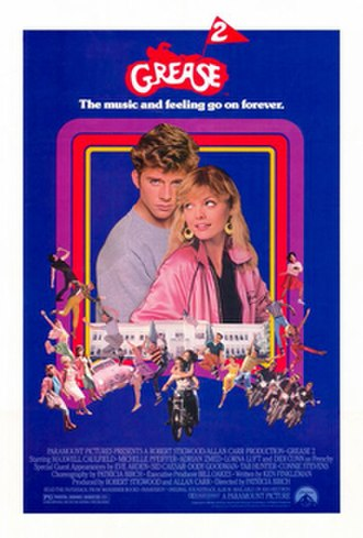 Grease 2 - Theatrical release poster
