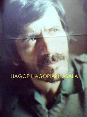Hagop Hagopian (guerrilla) - Image: H Hagopian ASAL Aleader