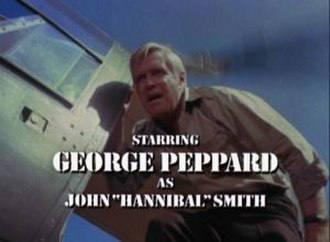 """John """"Hannibal"""" Smith - John """"Hannibal"""" Smith as he appears in the first and second season opening credits"""
