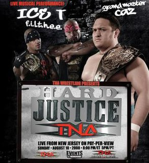 Hard Justice (2008) 2008 Total Nonstop Action Wrestling pay-per-view event