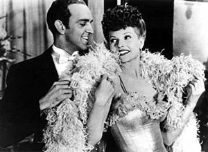 """Hermes Pan - Hermes Pan and Rita Hayworth in the dance routine """"On the Gay White Way"""" from My Gal Sal (1942)"""