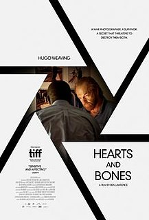 <i>Hearts and Bones</i> (film) 2019 film by Ben Lawrence