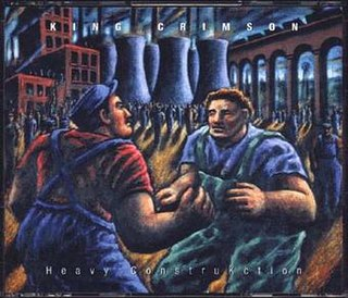 <i>Heavy ConstruKction</i> 2000 live album by King Crimson