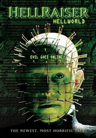 Hellraiser: Hellworld - Home video poster