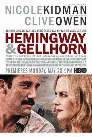 Hemingway & Gellhorn - Official poster