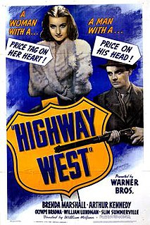 <i>Highway West</i> 1941 film