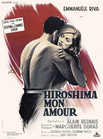 Hiroshima mon amour - Original 1959 movie poster