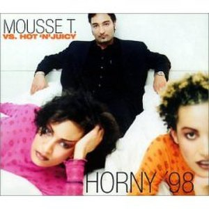 Horny '98 - Image: Horny (Mousse T single cover art)