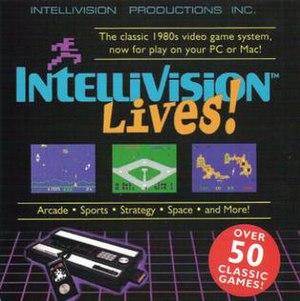 Intellivision Lives! - Original cover art for Windows