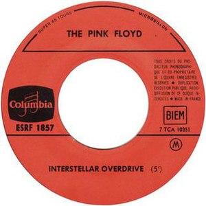 Interstellar Overdrive - Image: Interstellar Overdrive (Arnold Layne EP B side)