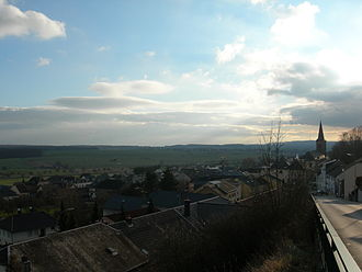 Itzig, Luxembourg - View from Itzig Plateau