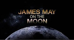 James May on the Moon opening title card