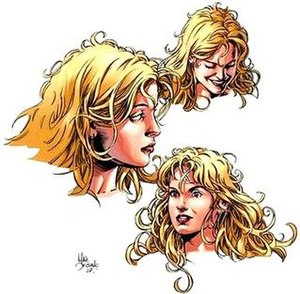 Jennifer Kale - Jennifer Kale as drawn by Mike Deodato for the Witches series.