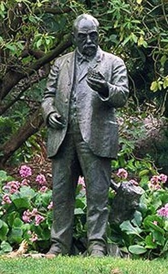 Golden Gate Park - John McLaren served as superintendent of Golden Gate Park for 56 years.