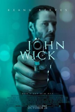 John Wick - Theatrical release poster