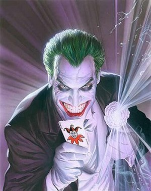 Joker (character) - The Joker Art by Alex Ross