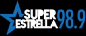 KCVR (AM) - Image: KCVR Super Estrella 98.9 logo