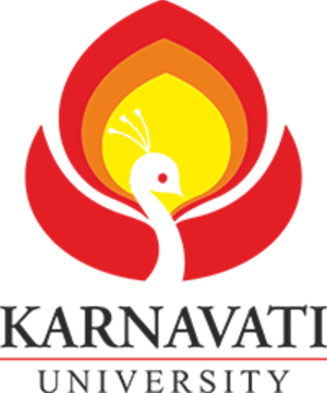 Karnavati University - Image: Karnavati University logo
