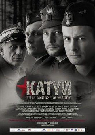 Katyń (film) - Polish release poster